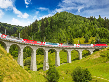 "Bernina Express ""Trenino Rosso del Bernina"""