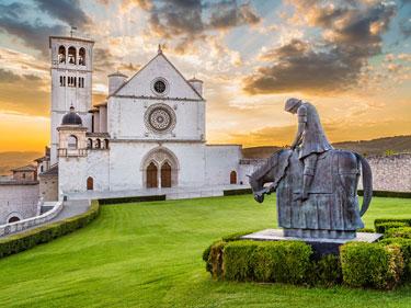 Gran tour nella leggendaria Umbria